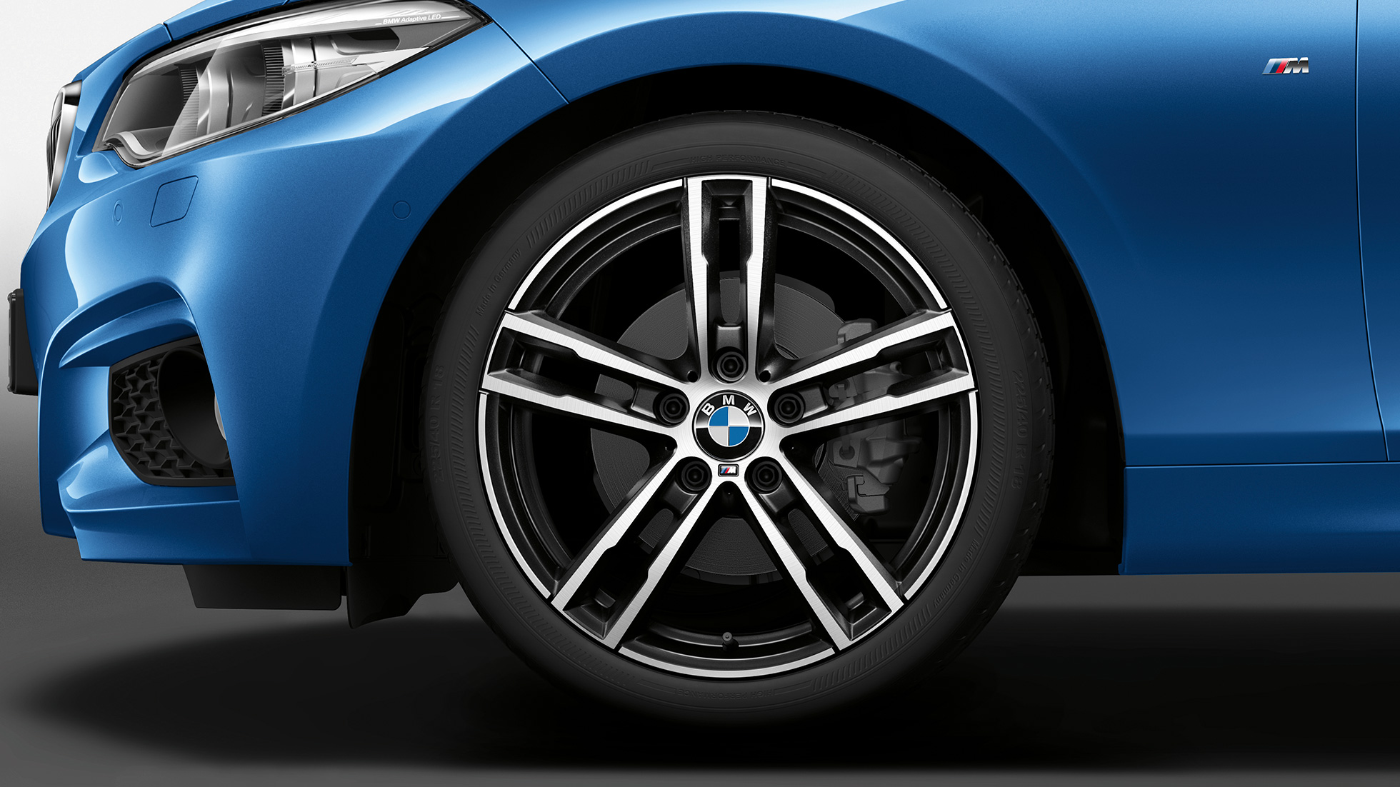 BMW 2 Series Coupé, Model M Sport wheels