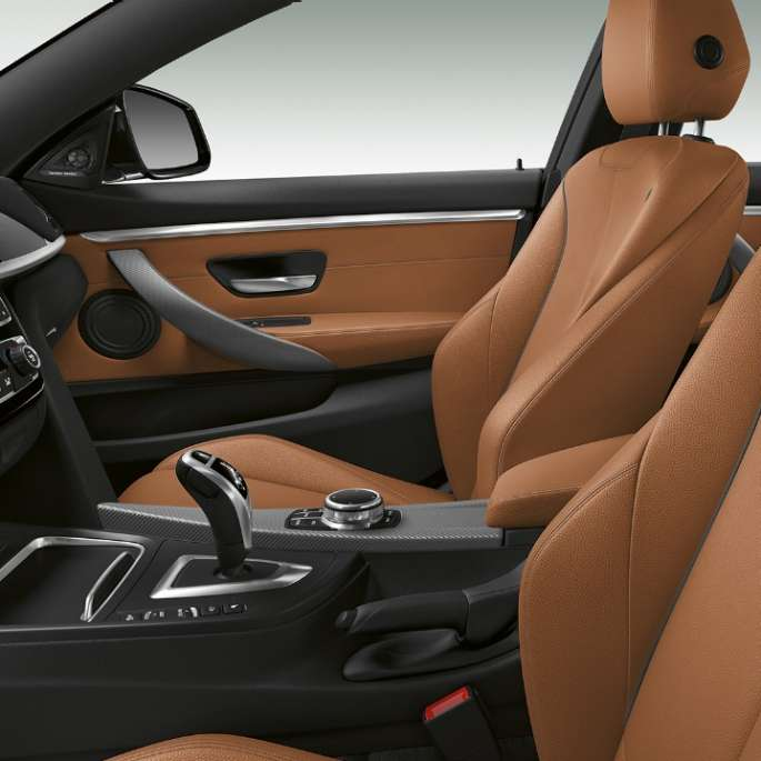 BMW 4 Series Gran Coupé, Model M Sport interior