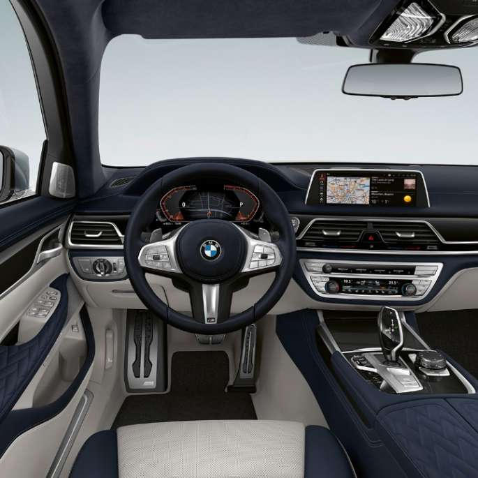 BMW 7 Series Sedan M Sport package interior